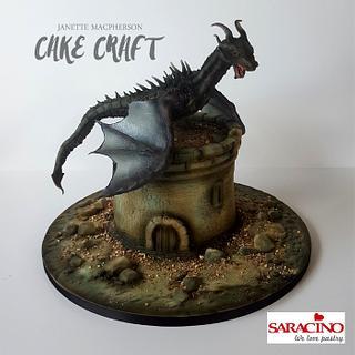 Skyrim cake