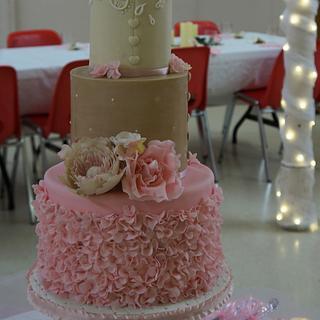 Romantic Bohemian - Cake by MKBC