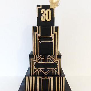 Gatsby Man Cake - Cake by Djamila Tahar (DT Cakes)