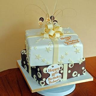 Parcels Cake - Cake by Sylvania Cakes - Exeter