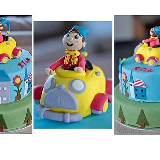 Noddy cake - Cake by Amelis