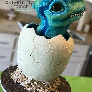 Baby Dino Cake - Cake by Something Sweet