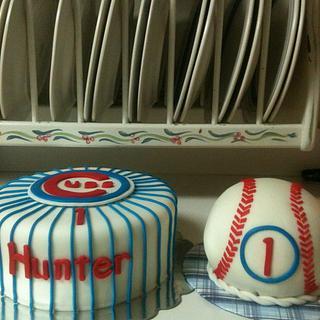Cubs Baseball Cake