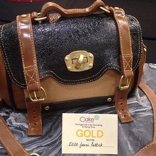 Gold Award Handbag Cake