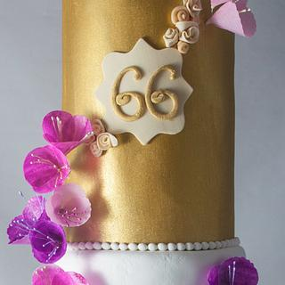 66, Fabulous and Glorious - Cake by 2cute2biteMe(Ozge Bozkurt)