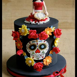My piece for Sugar Skull Bakers 2014