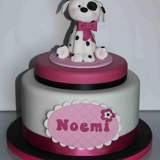 Sweet dog cake
