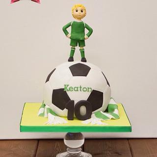 Keaton the Footballer
