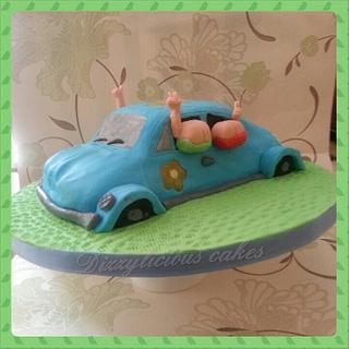 hippy flashers cake