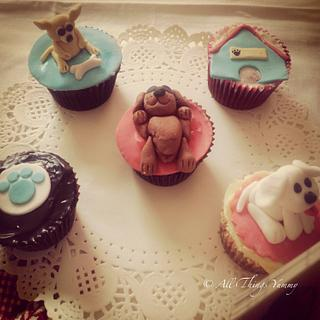 Pupcakes - Cake by All Things Yummy