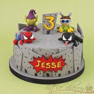 Baby Marvel - Spiderman Cake