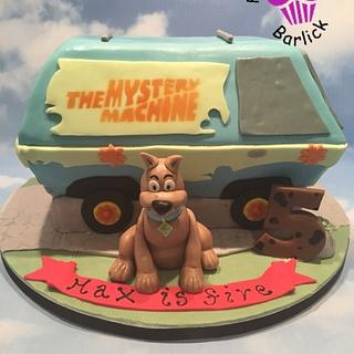 Zoinks max is 5 with scooby doo - Cake by For goodness cake barlick