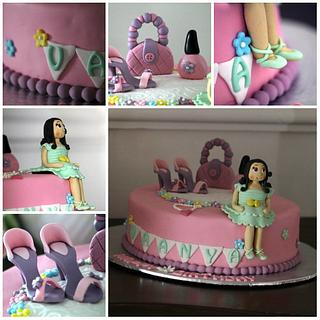 Cake for a fashionista - Cake by MiaTorte Cakes, Hyderabad