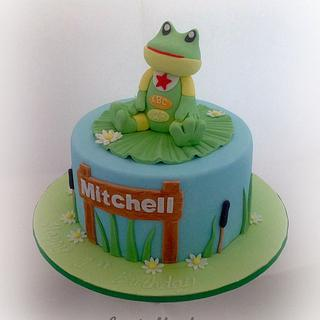 The Frog - Cake by Fantail Cakes