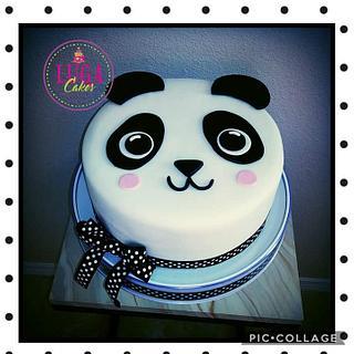 Panda cake - Cake by Luga Cakes