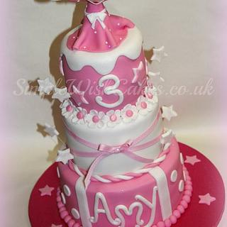 3 Tier Minnie Mouse