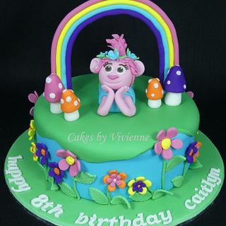 Princess Poppy Birthday Cake - Cake by Cakes by Vivienne