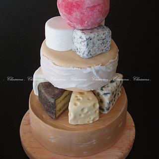 Cheese tower cake - Cake by Clara da Cruz