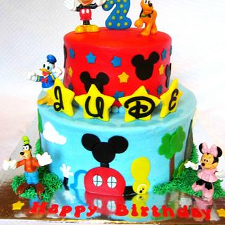 Mickey Mouse Clubhouse - Cake by RuthieAnn