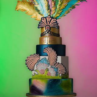 NEC Cake International 2014 - Samba Queen Cake - Gold Award