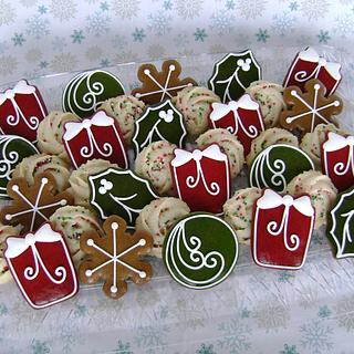 Old Timey Christmas Cookies