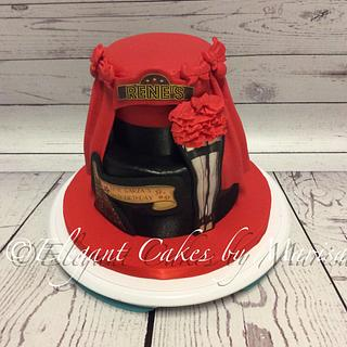 RENE'S MOULIN ROUGE BD - Cake by ECM