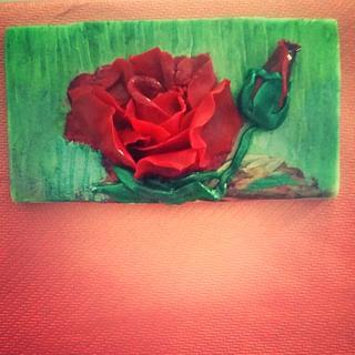 3D miniature edible painting