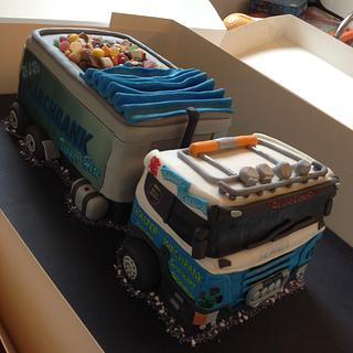 'Grooms' cake ( Own Lorry )