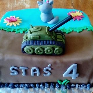 Cake for siblings