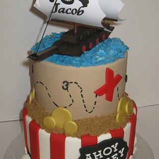 Pirate - Cake by DoobieAlexander