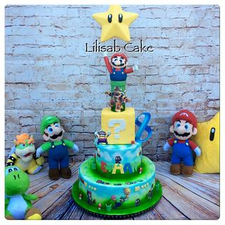 Mario and friends !!! By Lilisab Cake