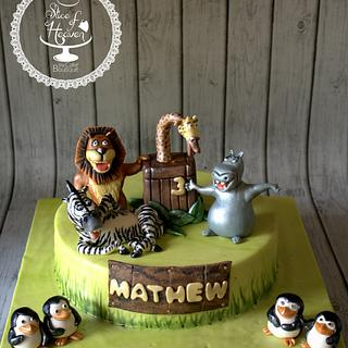 Madagascar - Cake by Slice of Heaven By Geethu