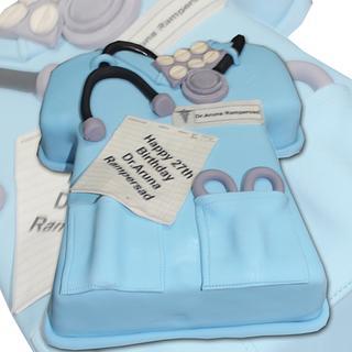 Happy Birthdy Doc - Cake by MsTreatz