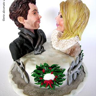 Holiday-Christmas at the movies collaboration  - Cake by Torte decorate di Stefy by Stefania Sanna