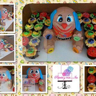 TUMMY DOG - Cake by Pastelesymás Isa