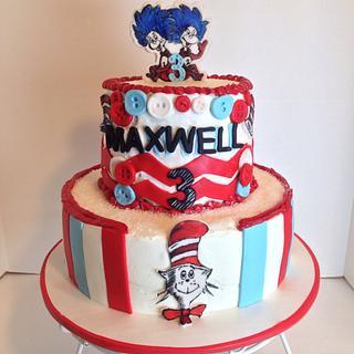 Dr. Seuss cake - Cake by Sheri Hicks