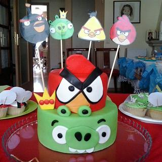 Angry birds candy table - Cake by Mayvicake