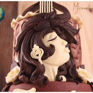 Fado in Chocolate - Music Around the World (Cake Notes) Collaboration