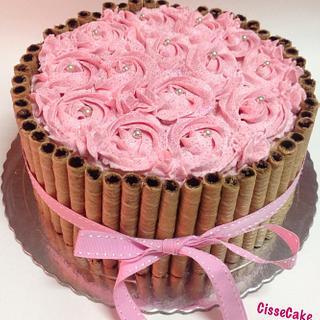 Strawberry cake - Cake by Cidália Silva