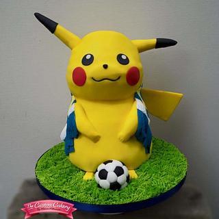 Footballing Pikachu