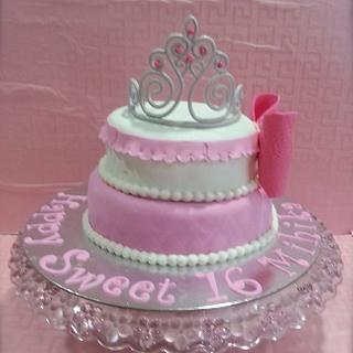 Tiara & Bow - Sweet 16th