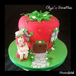 Strawberry Shortcake  - Cake by Eliza's Novelties