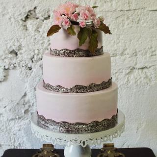 """Wedding cake """"SAKURA"""""""
