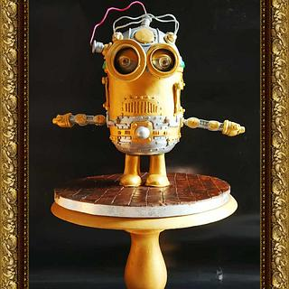 Steampunk Electric Minion !!!