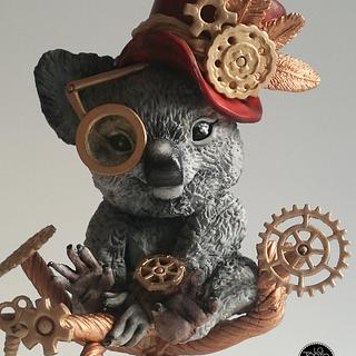 Steampunk Koala - Collaboration
