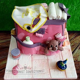 Lorna - Baby Shower Cake