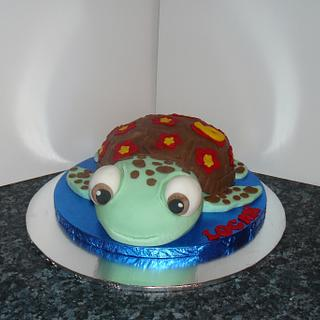 Squirt the turtle from Finding nemo Disney