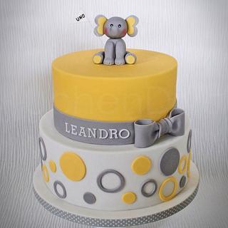 A little elephant for little Leandro...