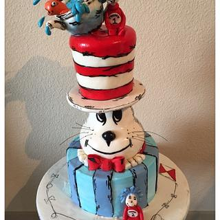 Cat in the hat - Cake by Dorje Desserts