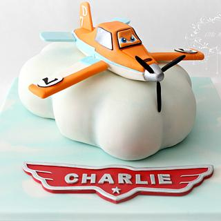 Dusty Crophopper ~ Planes Cake